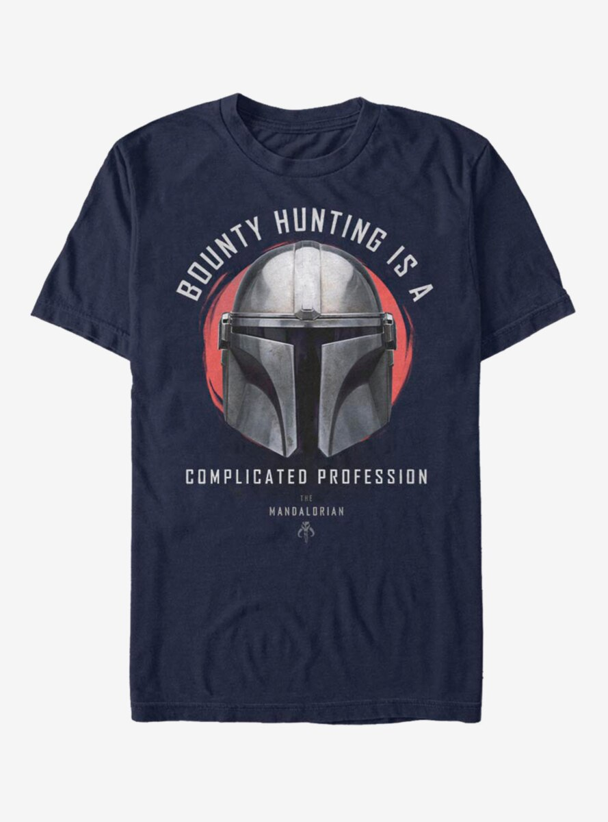 Star Wars The Mandalorian Bounty Hunting T-Shirt
