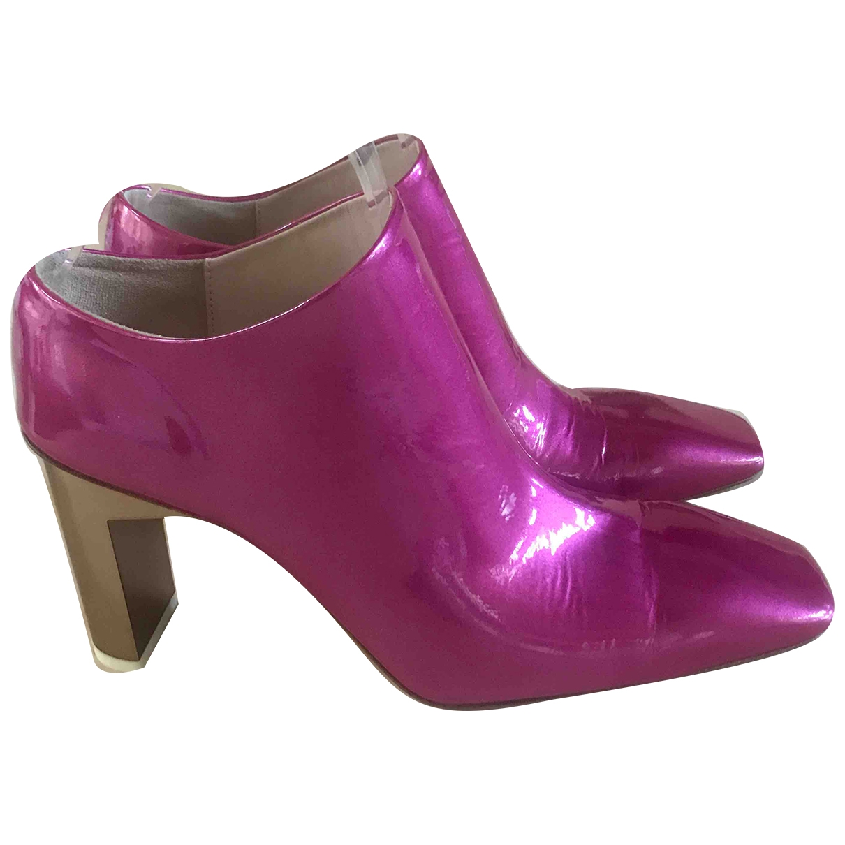 Alyx \N Pink Patent leather Heels for Women 39 IT