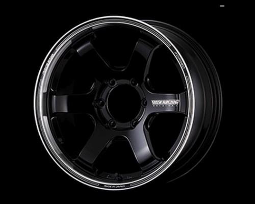 Volk Racing WVDL438KBD TE37SB Tourer Wheel 17x6.5 6x139.7 38mm Black/Rim DC
