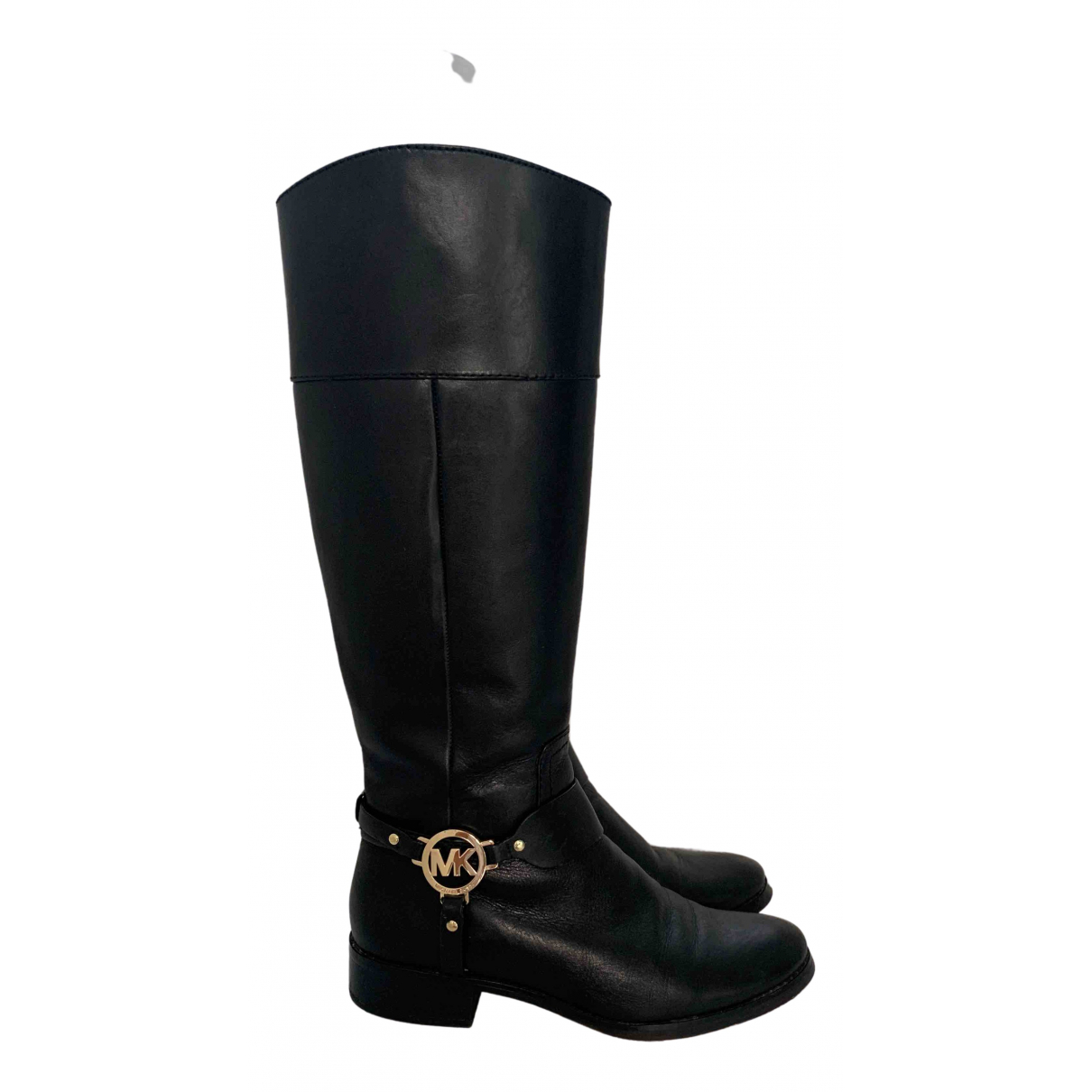Michael Kors \N Black Leather Boots for Women 9 US