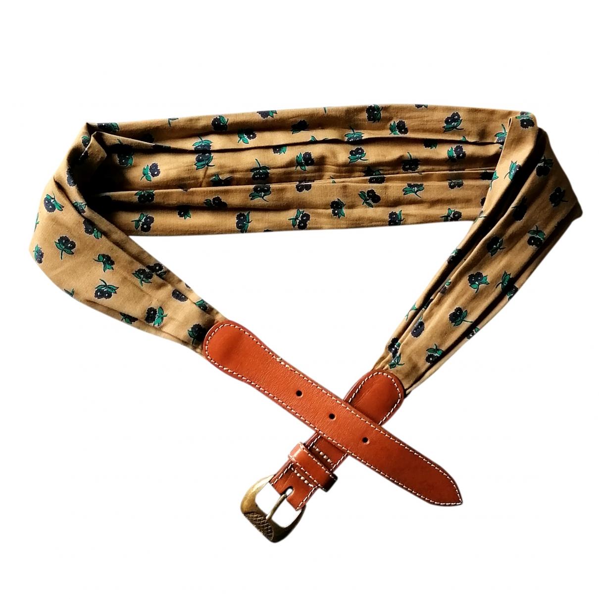 Non Signé / Unsigned Hippie Chic Multicolour Cotton belt for Women M International