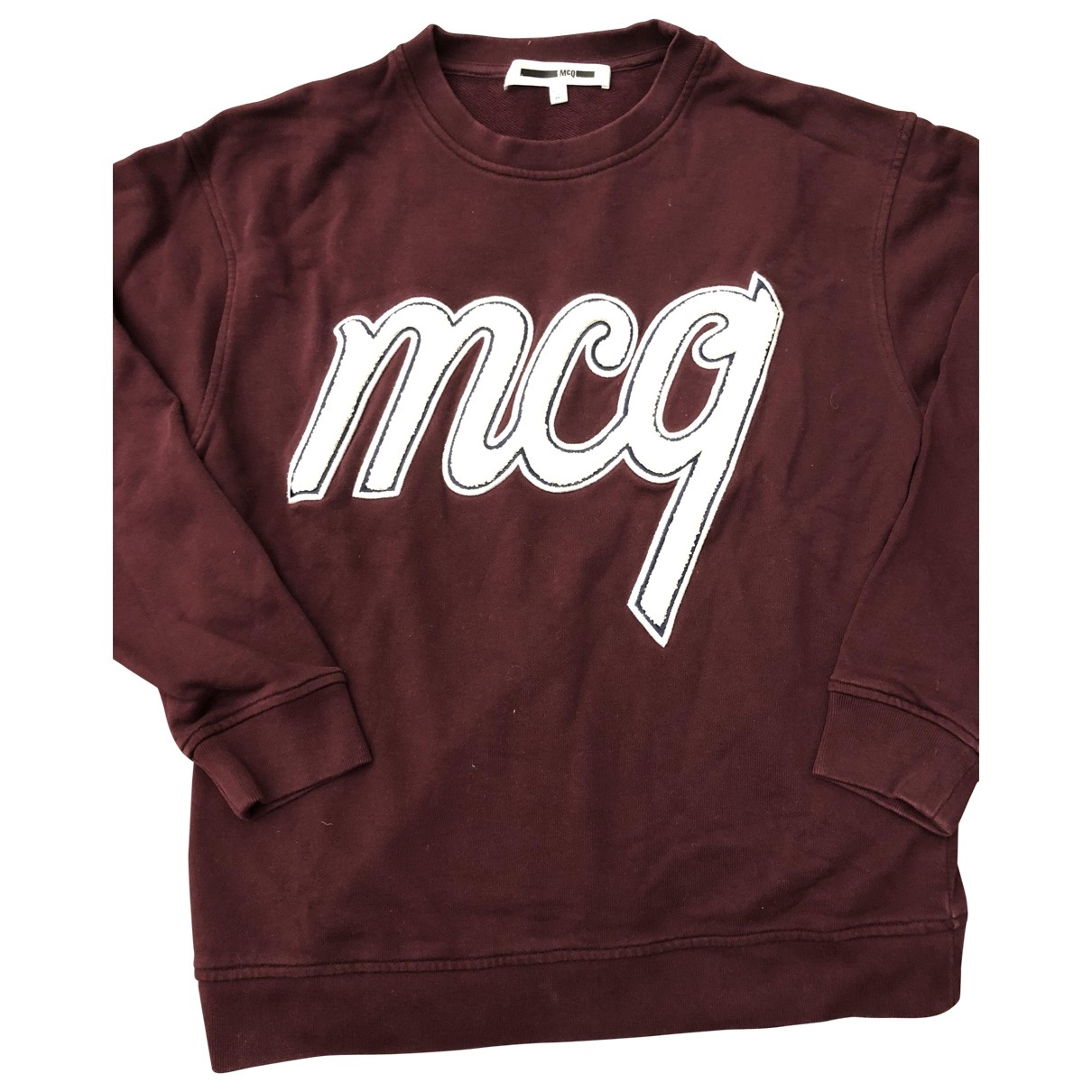 Mcq \N Burgundy Cotton  top for Women S International