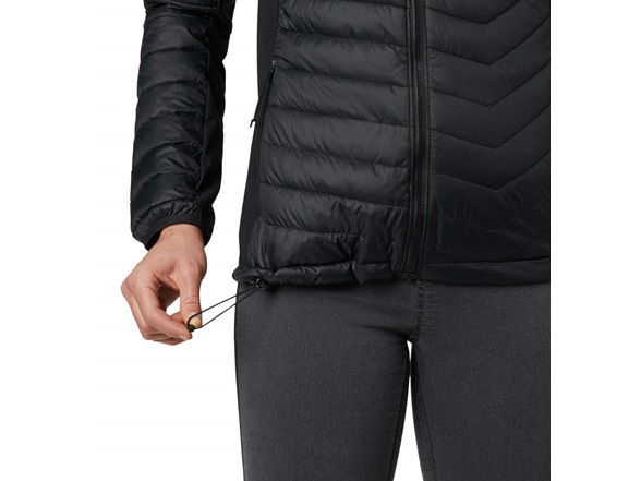 Columbia Womens Powderpass Hooded Jacket