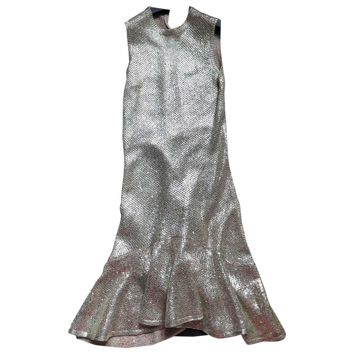 Alexander Mcqueen \N Gold Cotton dress for Women XS International