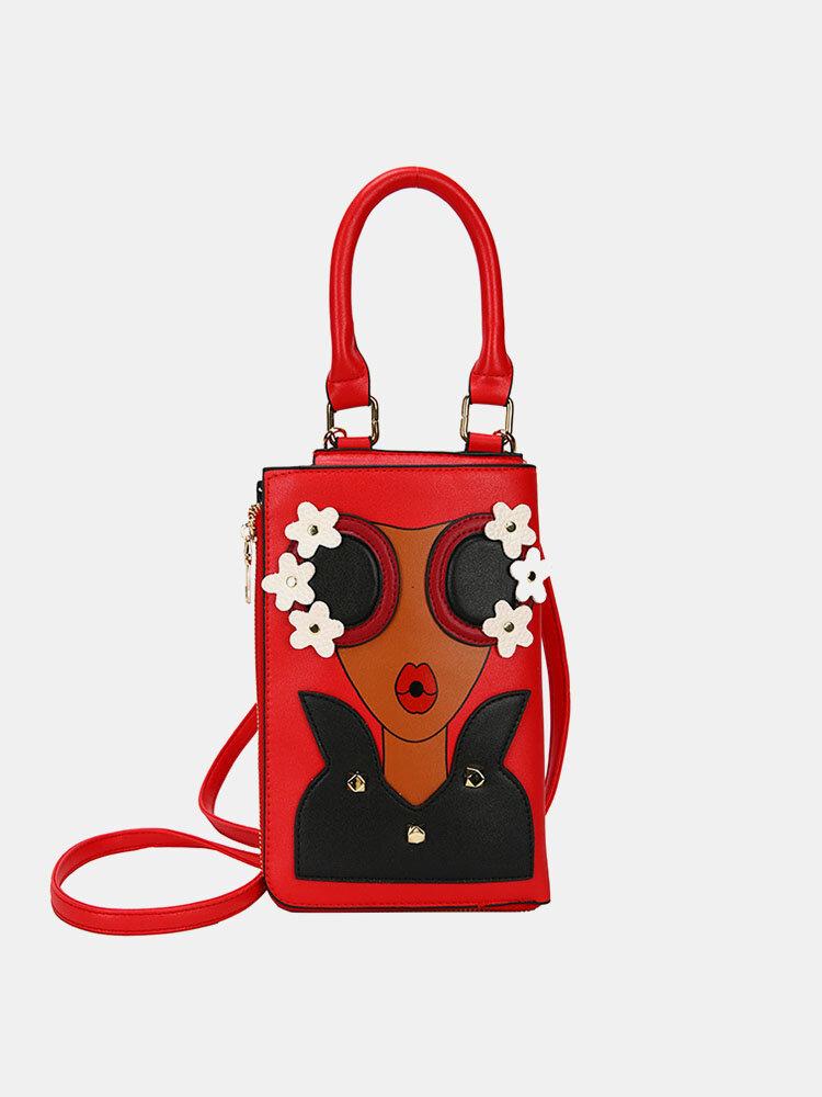 Cartoon Phone Bag Multi-function And Practical Shoulder Bag