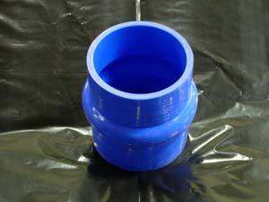 TurboXS txs-HH-51-BLU Silicone Hump Hose 51-51mm Blue