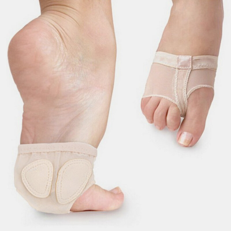 Gymnastics Dance Forefoot Sleeve Reduce Shock Pressure Breathable Absorb Sweat Foot Pad
