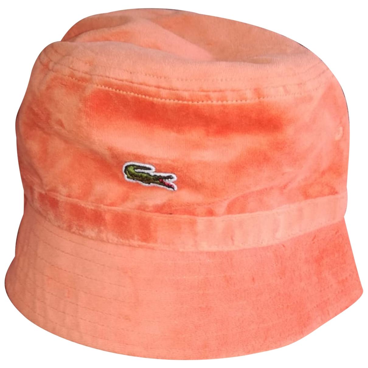 Lacoste \N Orange hat & pull on hat for Men 60 cm