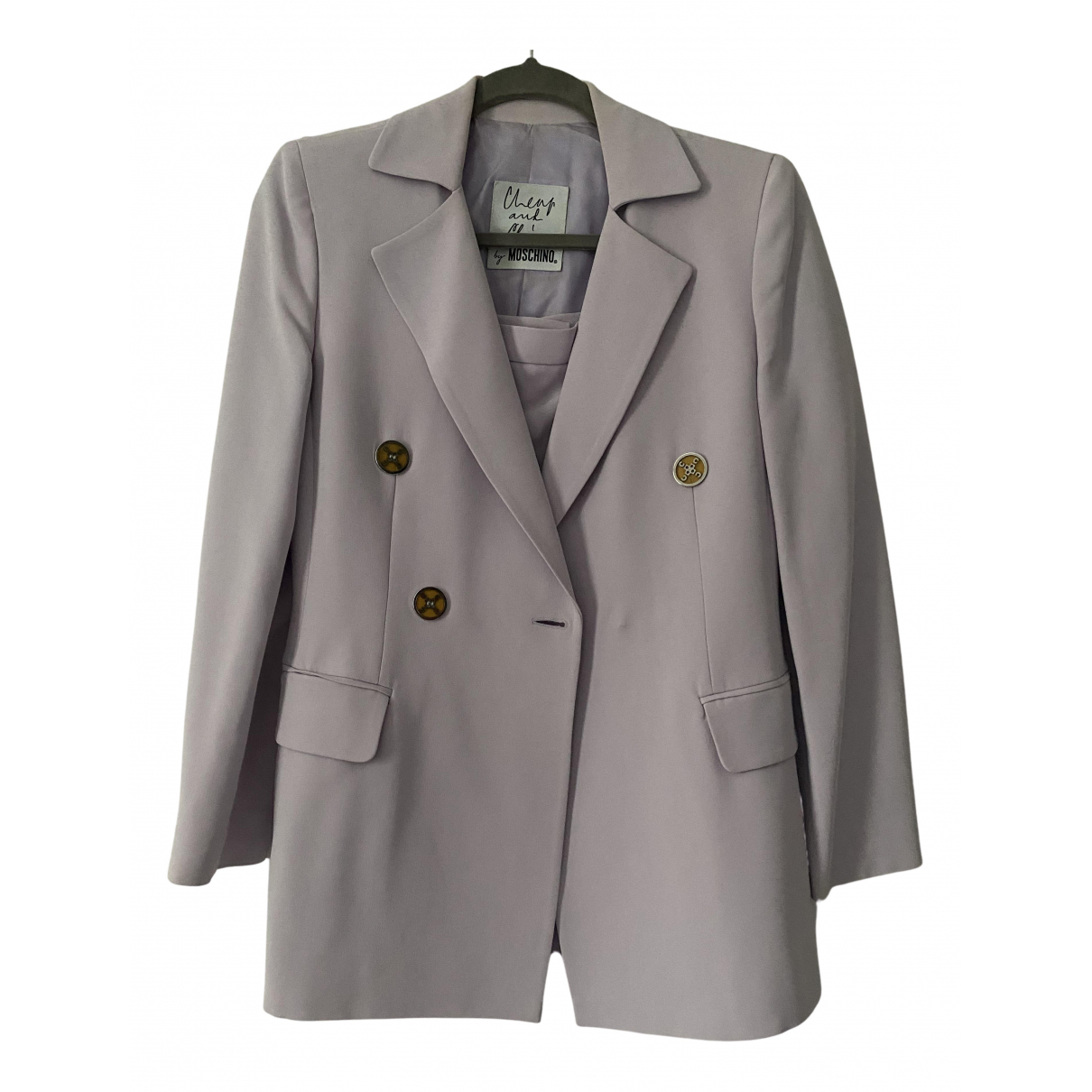 Moschino Cheap And Chic N Purple jacket for Women 10 UK
