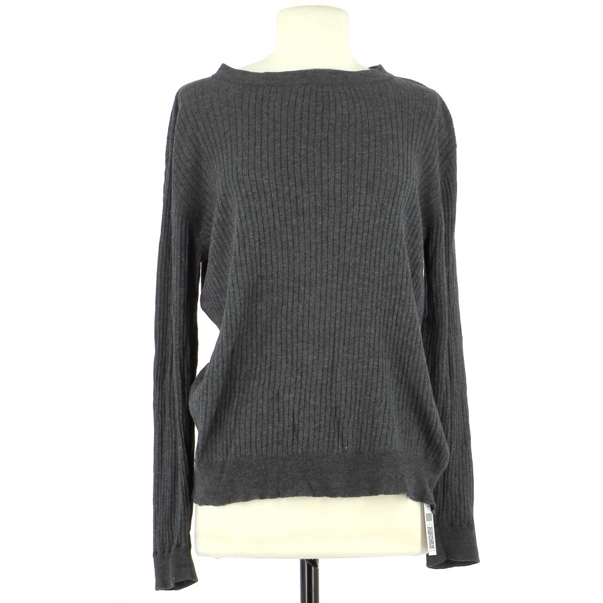 American Vintage \N Grey Cotton Knitwear for Women 36 FR