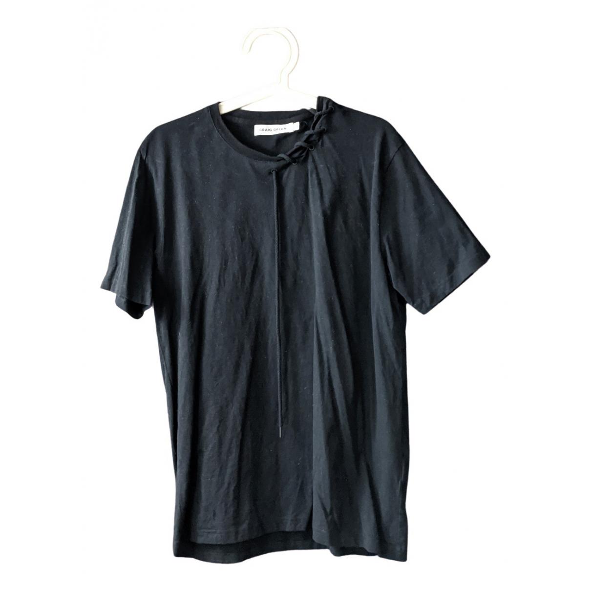 Craig Green N Black Cotton T-shirts for Men M International