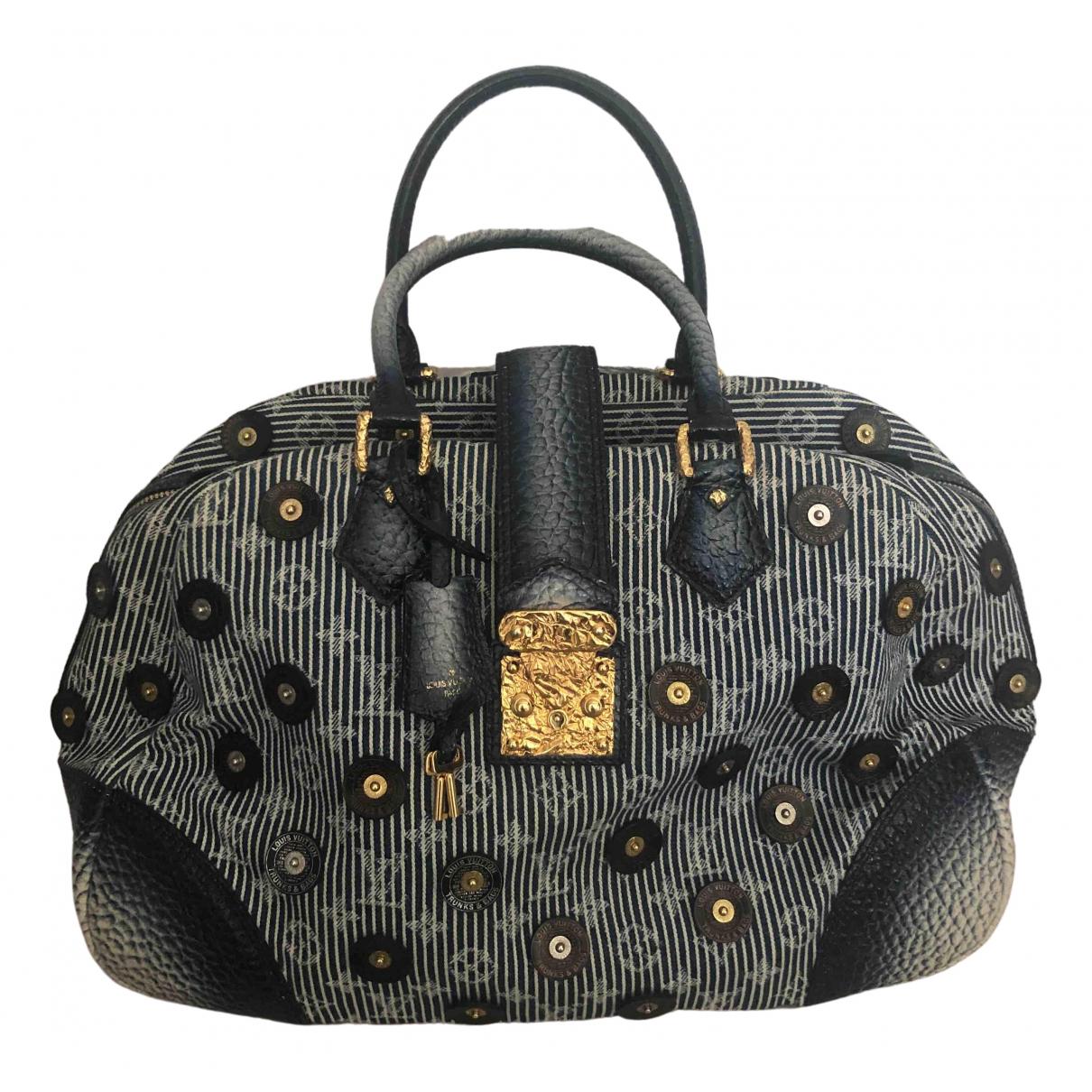Louis Vuitton \N Blue Denim - Jeans handbag for Women \N