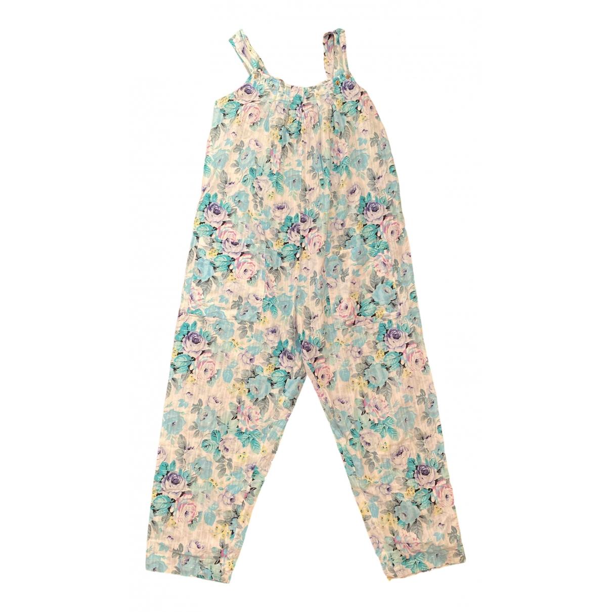 - Combinaison Hippie Chic pour femme en coton - multicolore