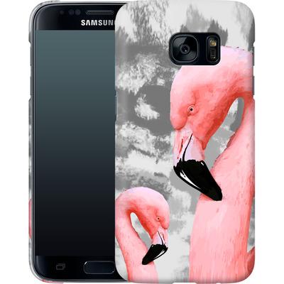 Samsung Galaxy S7 Smartphone Huelle - Flamingo Grey von Mukta Lata Barua