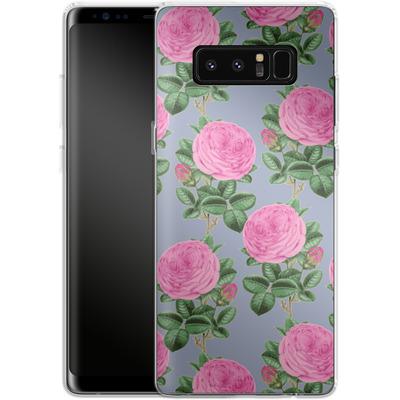 Samsung Galaxy Note 8 Silikon Handyhuelle - Pinky-Po von Zala Farah