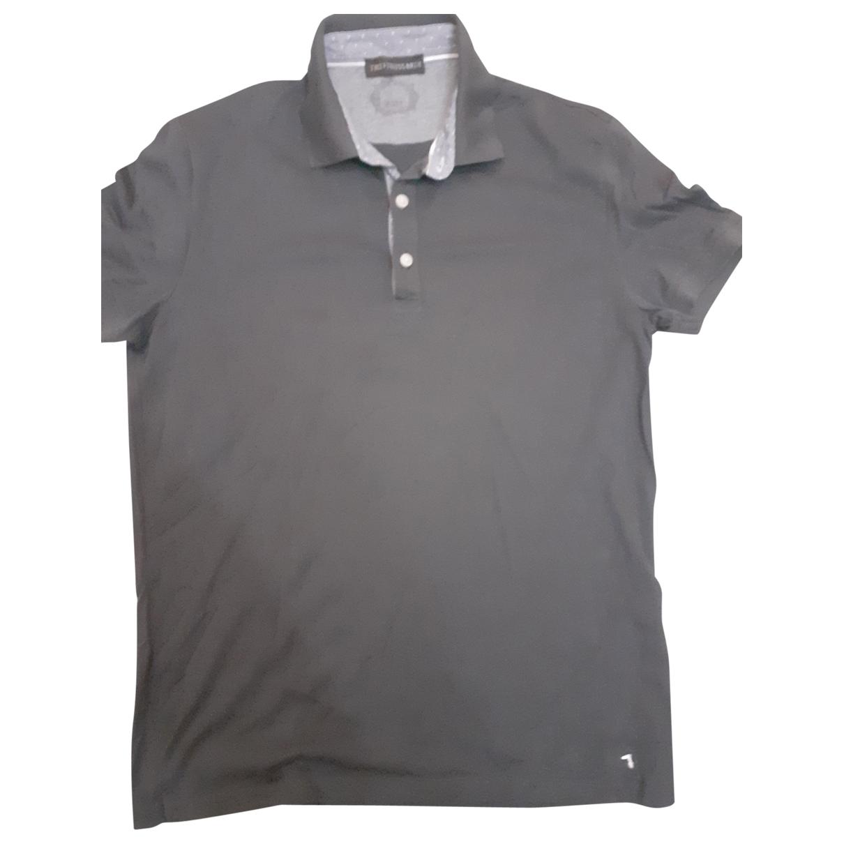 Trussardi - Tee shirts   pour homme en coton - gris