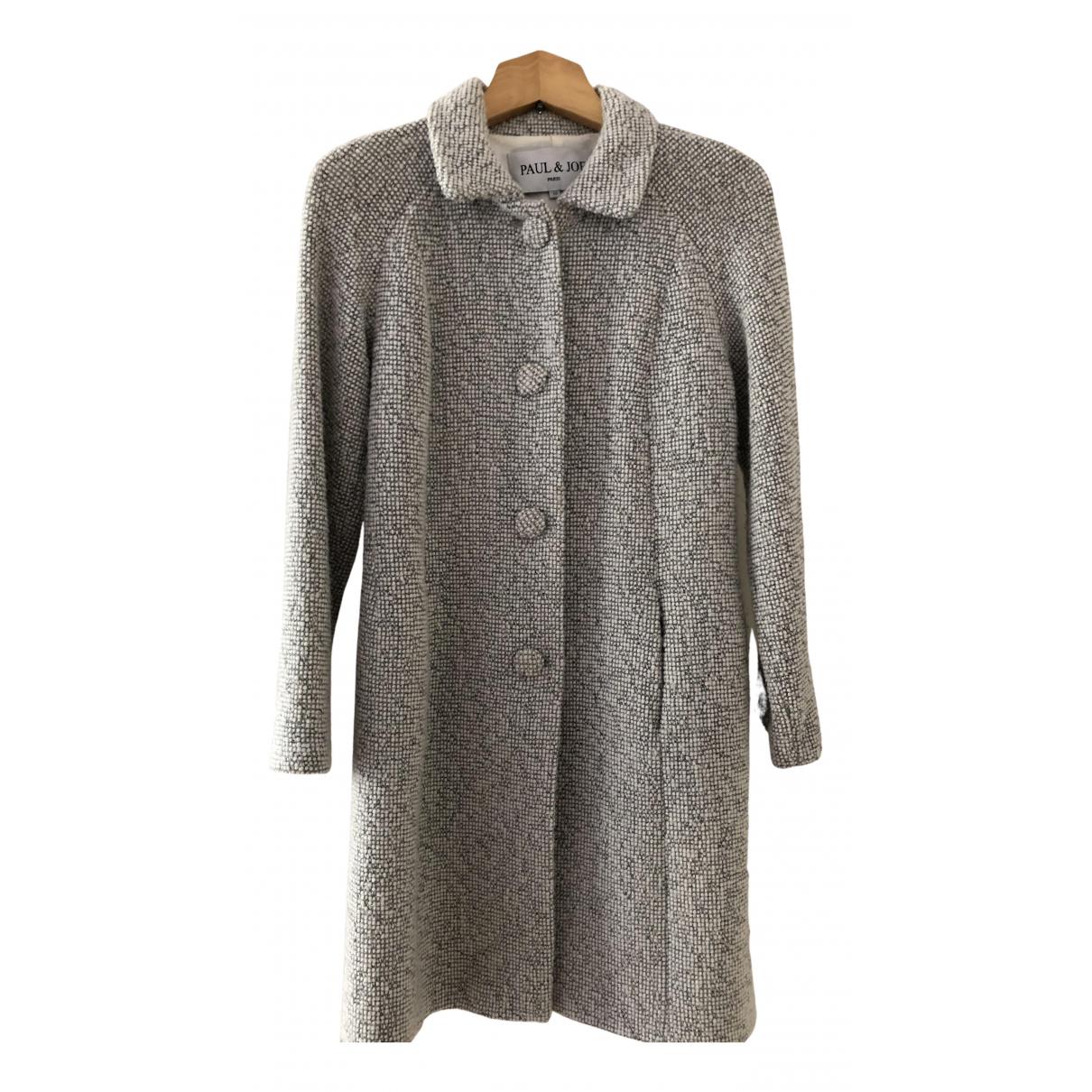 Paul & Joe - Manteau   pour femme en laine - gris