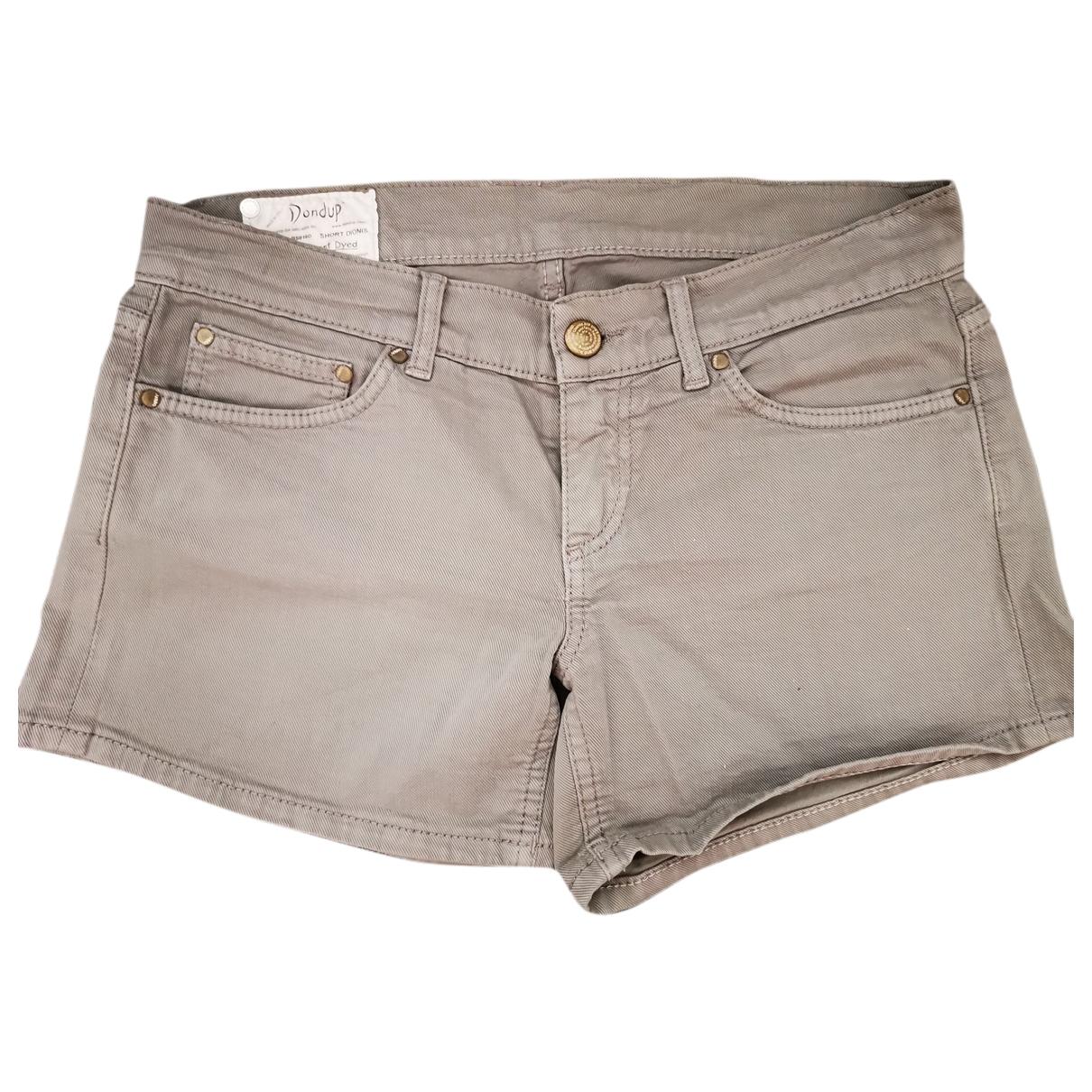 Dondup \N Shorts in  Grau Denim - Jeans