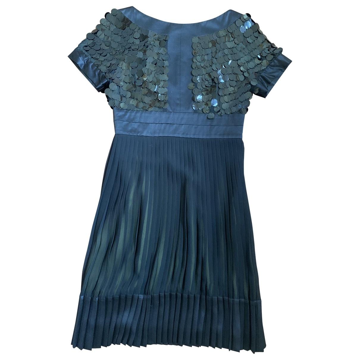 Just Cavalli - Robe   pour femme en soie - noir