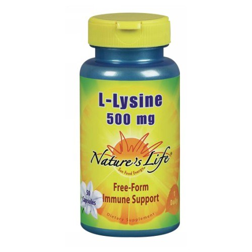 L-Lysine 50 caps by Natures Life