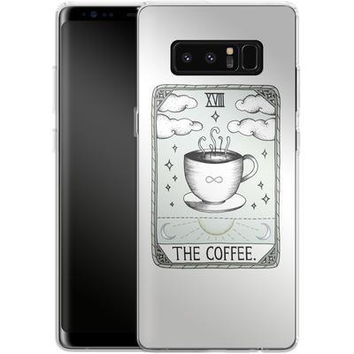 Samsung Galaxy Note 8 Silikon Handyhuelle - The Coffee von Barlena