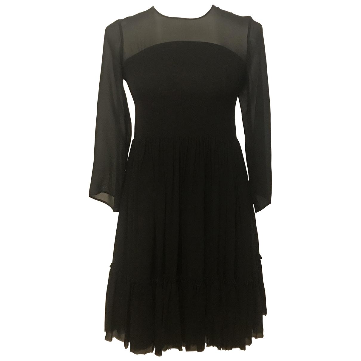 Charles Anastase - Robe   pour femme en soie - noir