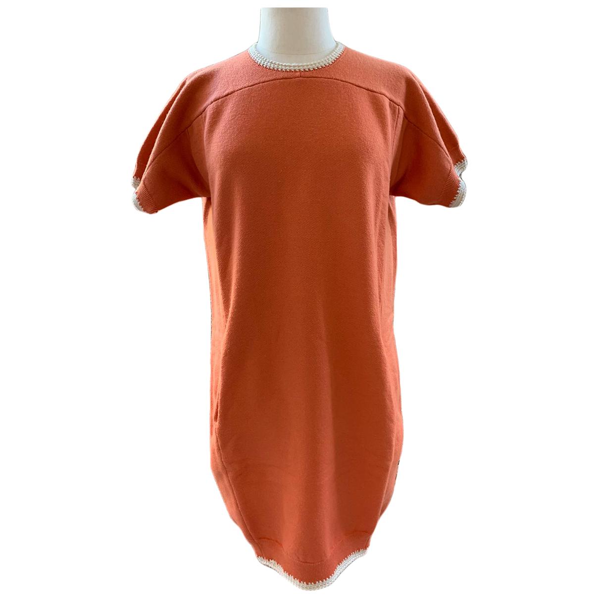 Chloe \N Kleid in  Orange Baumwolle