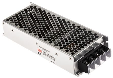 Mean Well RSD 150 151.2W Isolated DC-DC Converter Chassis Mount, Voltage in 67.2 → 143 V dc, Voltage out 24V dc