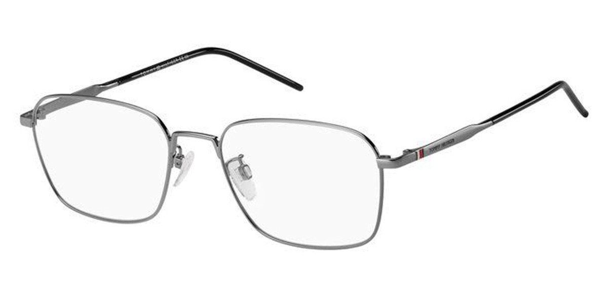 Tommy Hilfiger TH 1791/F Asian Fit 6LB Men's Glasses Grey Size 56 - Free Lenses - HSA/FSA Insurance - Blue Light Block Available