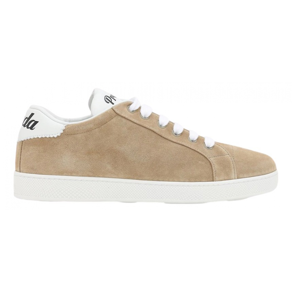 Prada \N Beige Suede Trainers for Women 38.5 EU
