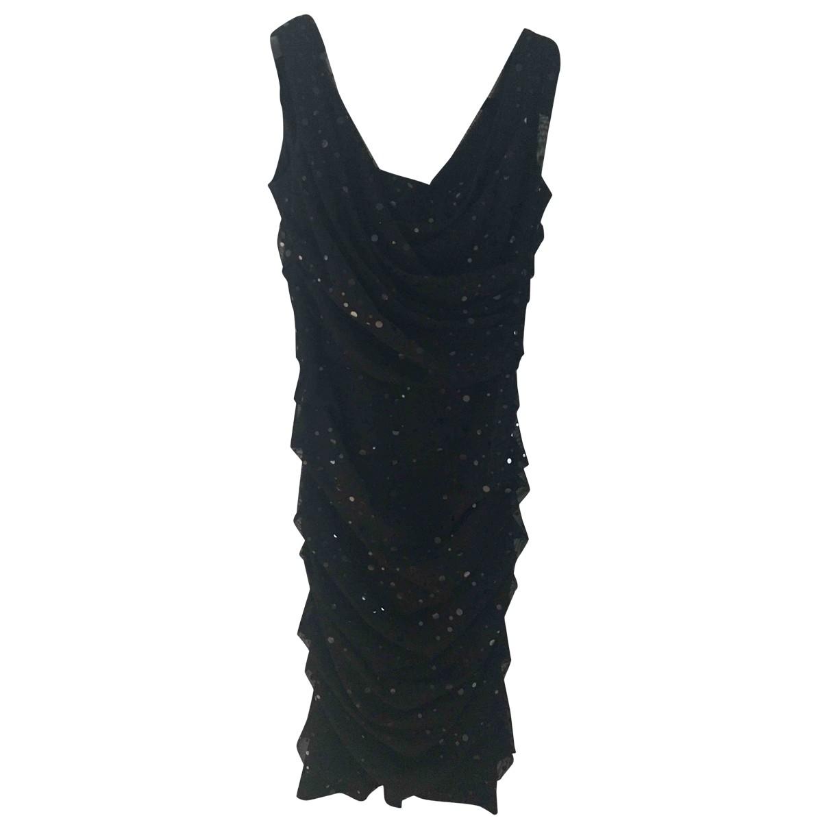 Dolce & Gabbana \N Black Glitter dress for Women 40 IT