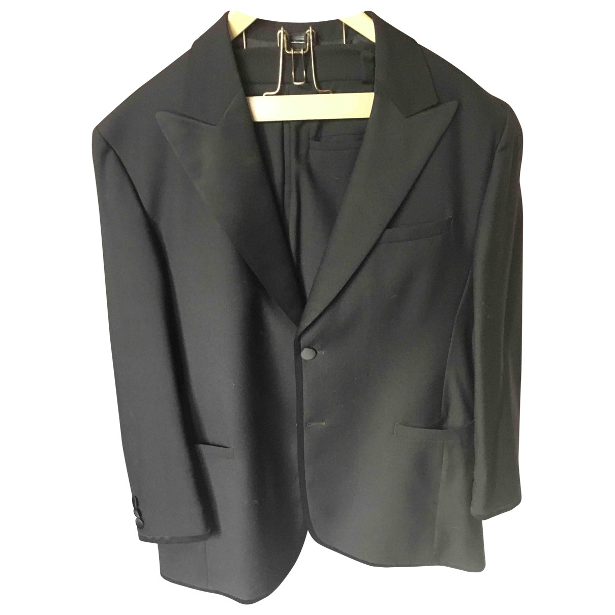 Istante \N Black Suits for Men XL International