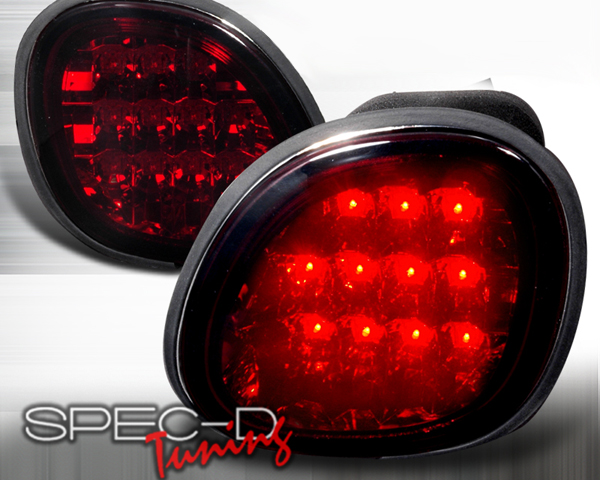 SpecD Red LED Trunk Tail Lights Lexus GS300/400 98-00