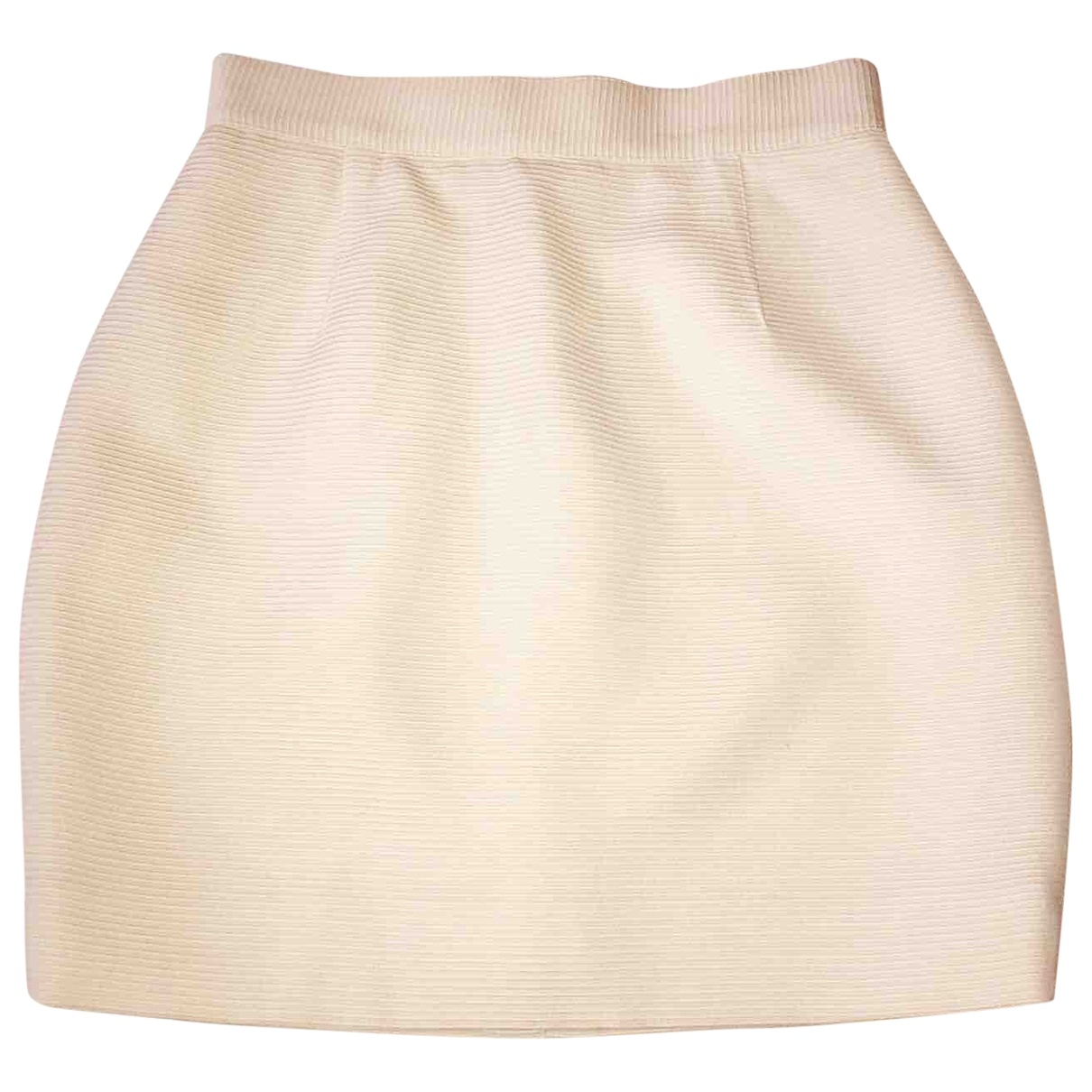 Mini falda de Lana Mugler
