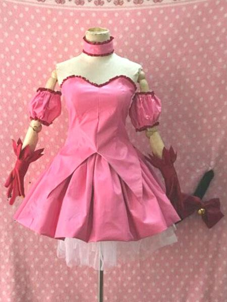 Milanoo Tokyo Mew Mew Momomiya Ichigo Halloween Kawaii Cosplay Costume