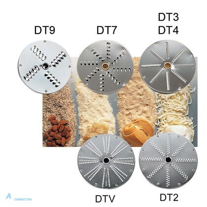 DT9 Grating Disc for Vegetable Cutter by Sirman  slice size 9