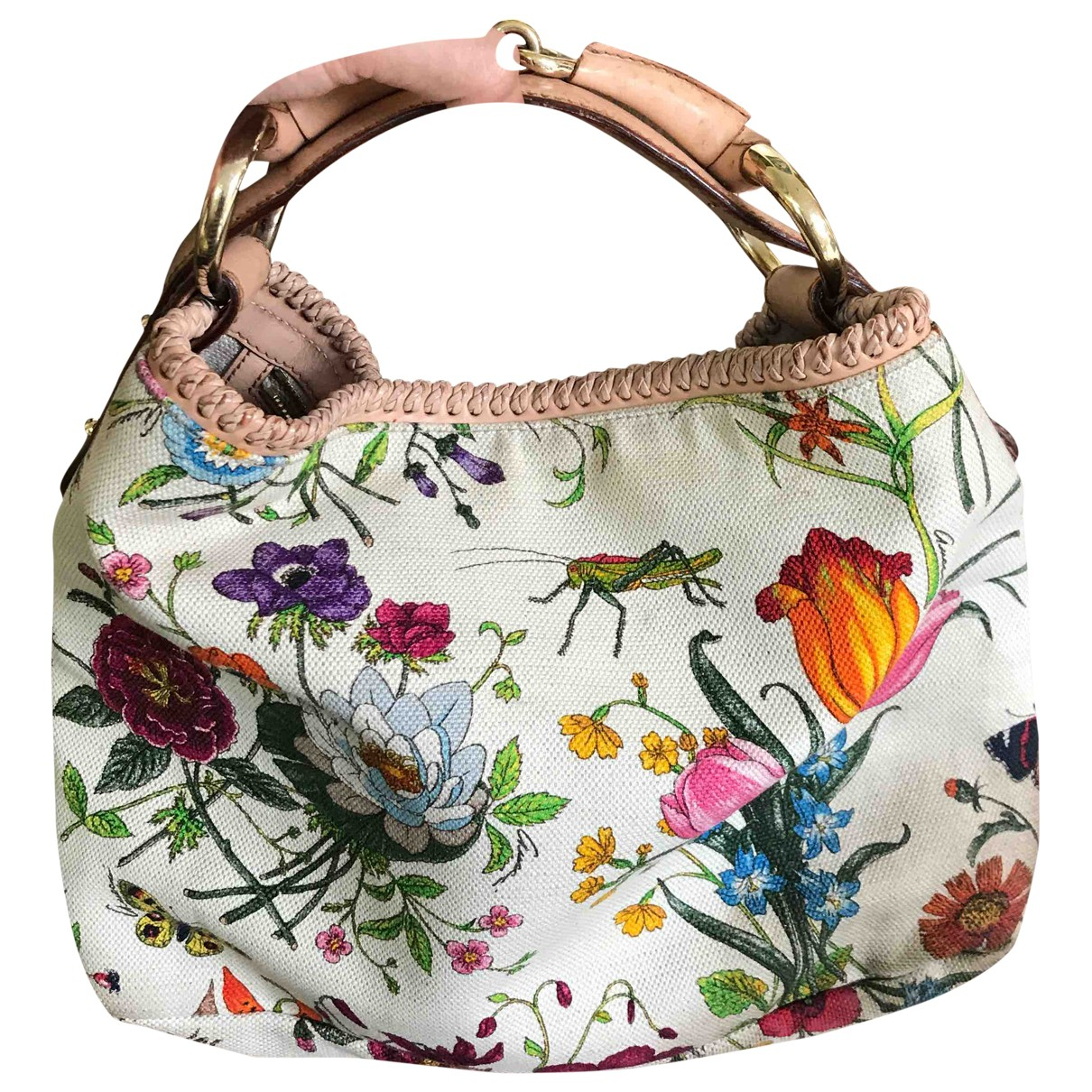 Gucci Hobo Ecru Cloth handbag for Women \N