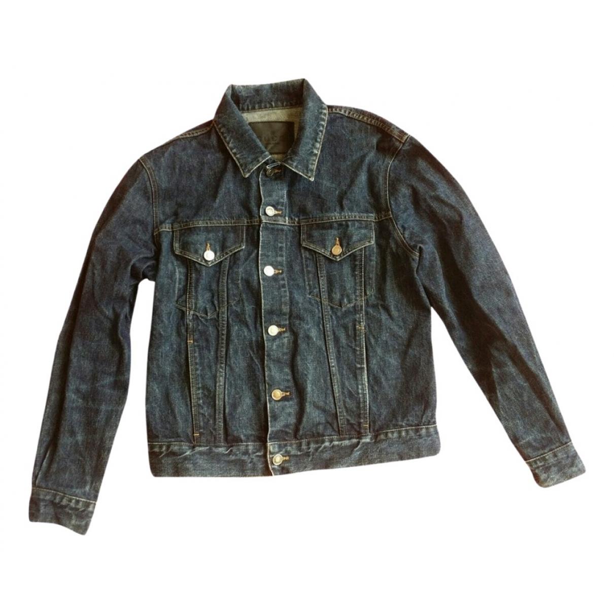 Gucci \N Blue Cotton jacket  for Men 48 IT