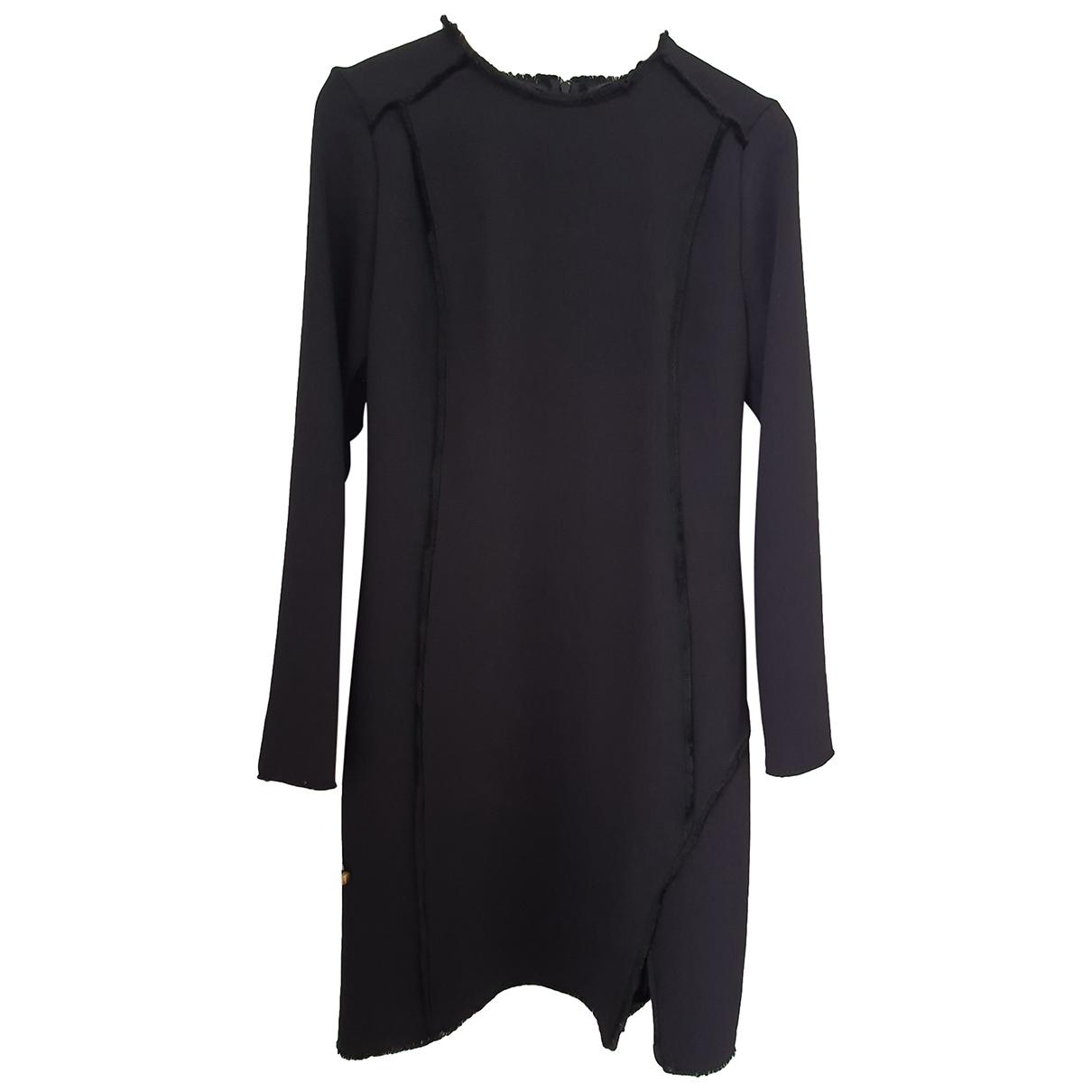 Ikks \N Kleid in  Schwarz Polyester