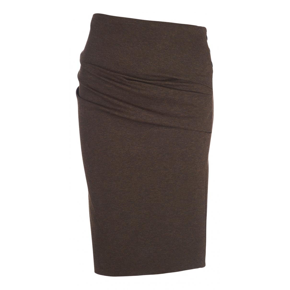 Brunello Cucinelli - Jupe   pour femme en coton - marron