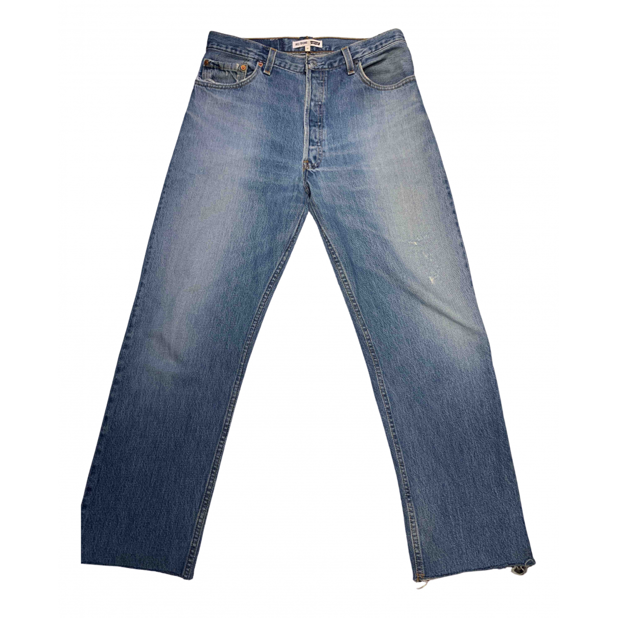 Re/done X Levi's \N Blue Denim - Jeans Jeans for Women 27 US