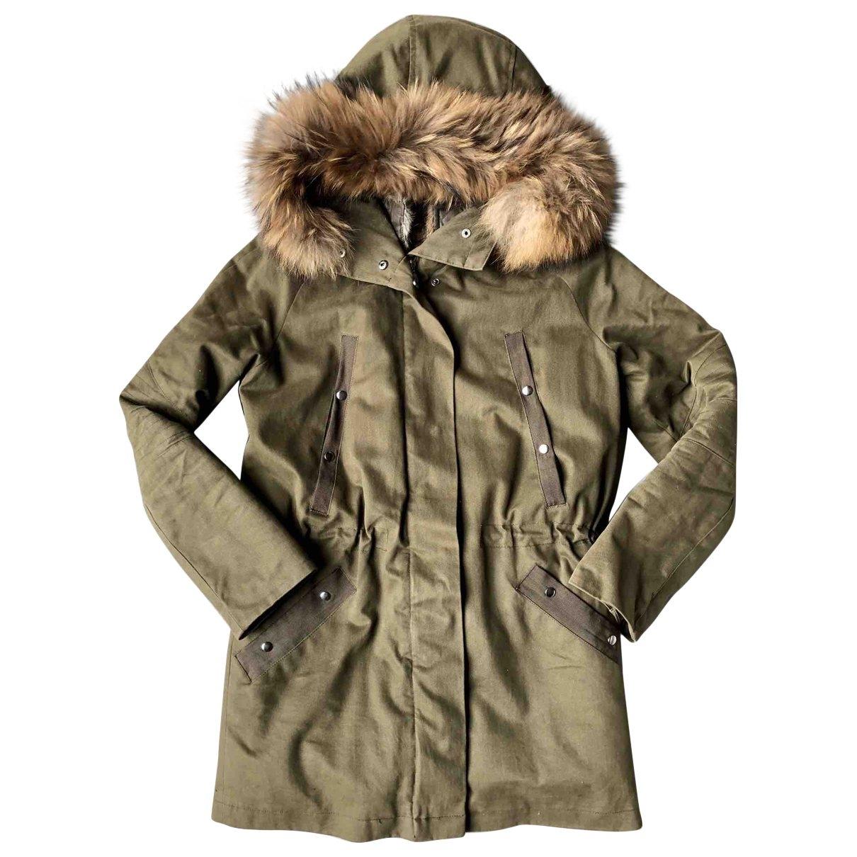 Zapa \N Khaki Cotton coat for Women 36 FR