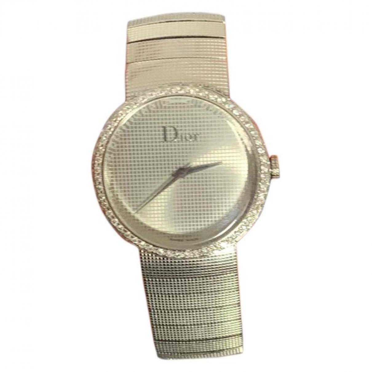 Christian Dior \N Uhr in  Silber Stahl