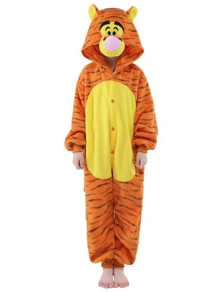 Milanoo Disfraz Halloween Traje de la mascota de sintetico pasando tigre mono  Halloween