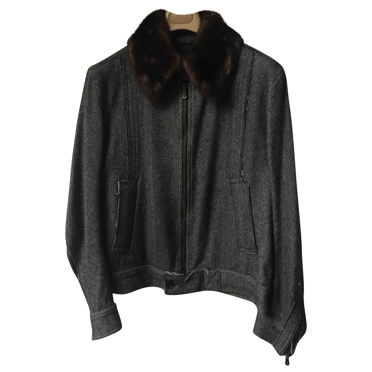 Dolce & Gabbana \N Grey Fur jacket  for Men 50 IT