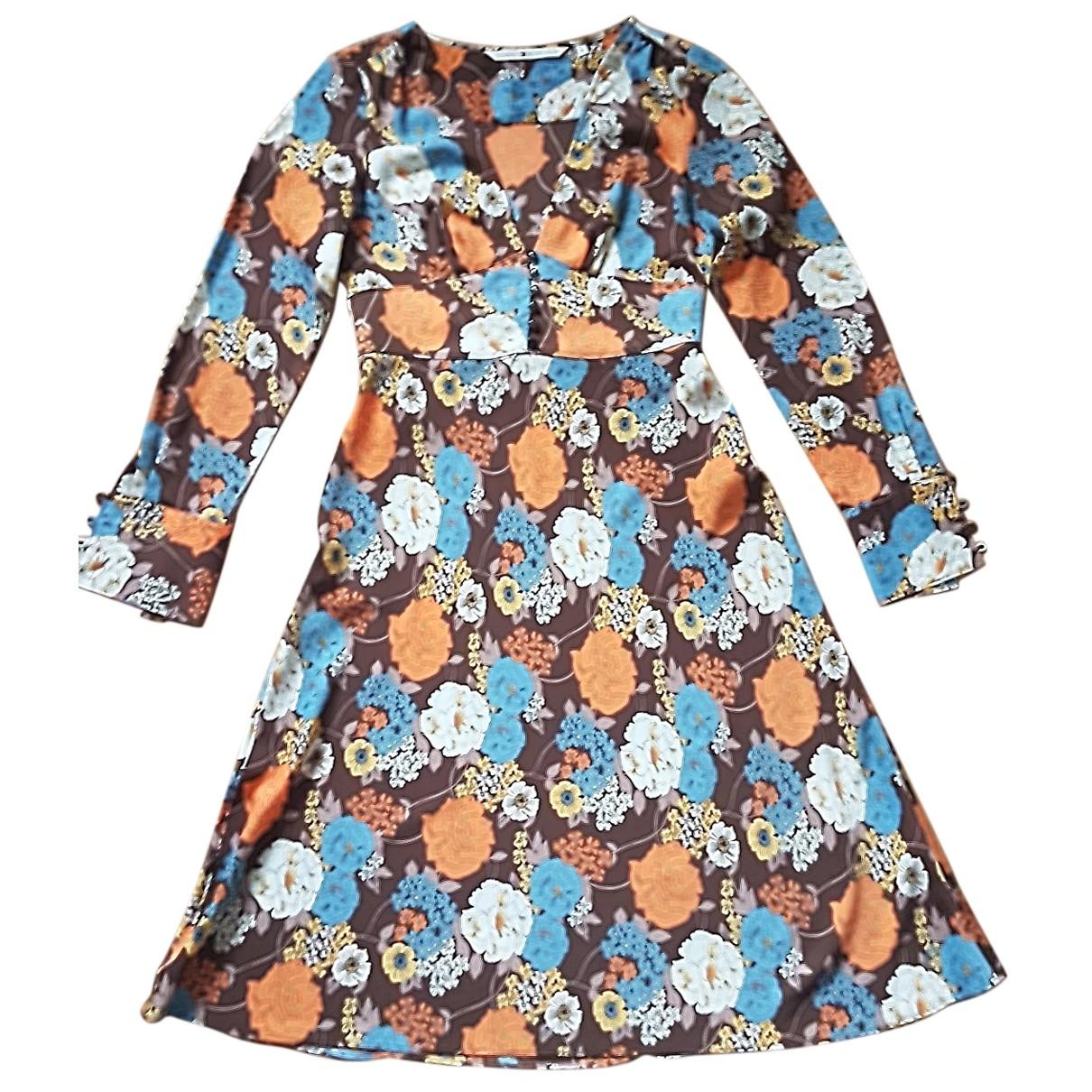 Tommy Hilfiger \N Kleid in  Braun Polyester