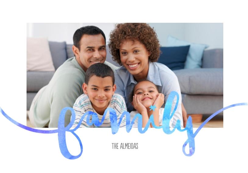 Family + Friends Framed Canvas Print, Black, 20x30, Home Décor -FamilyWatercolors