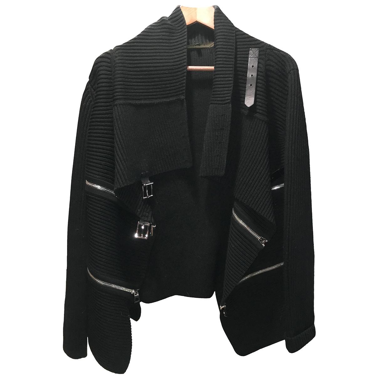 Barbara Bui \N Black Wool jacket for Women 38 FR