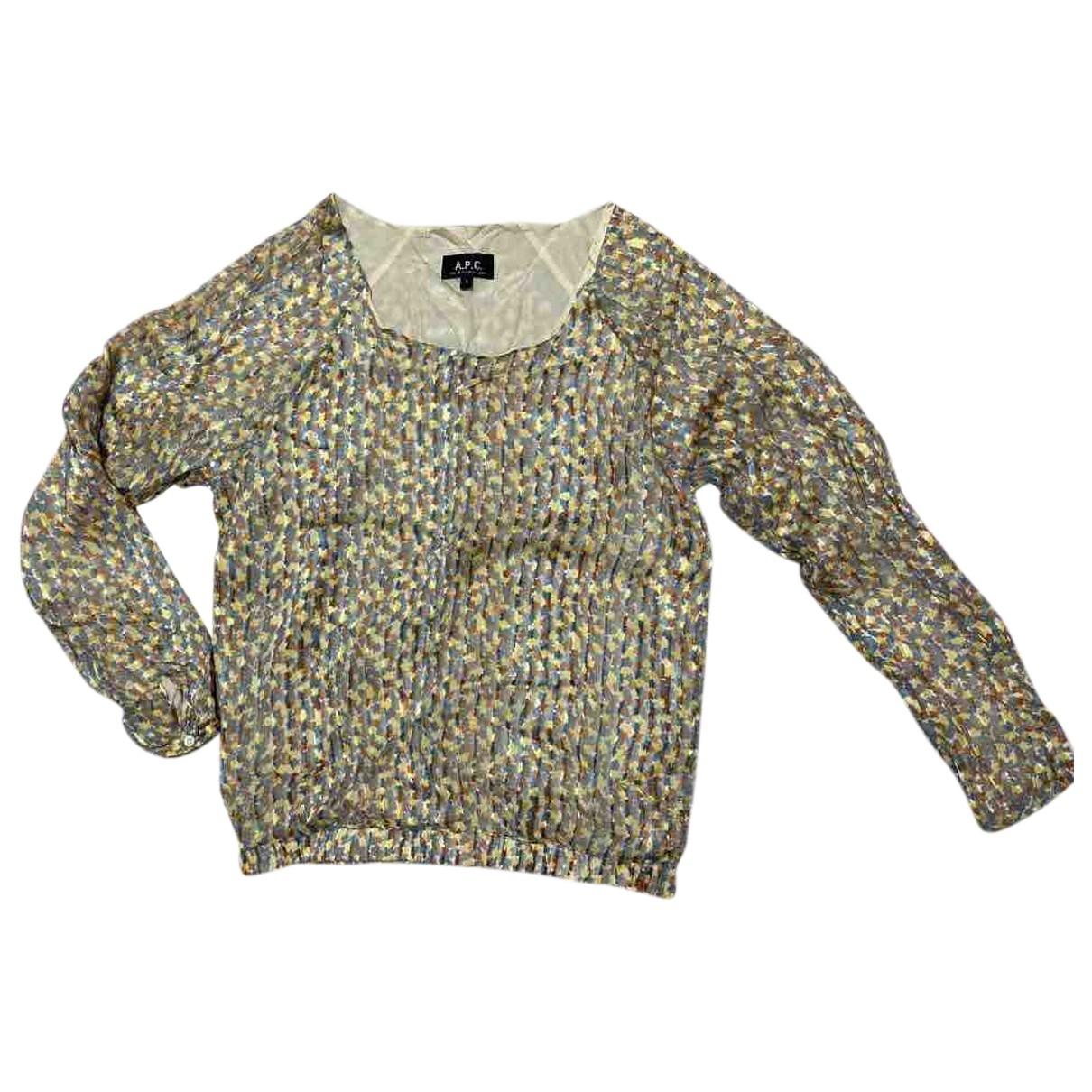 Apc \N Yellow Silk  top for Women S International