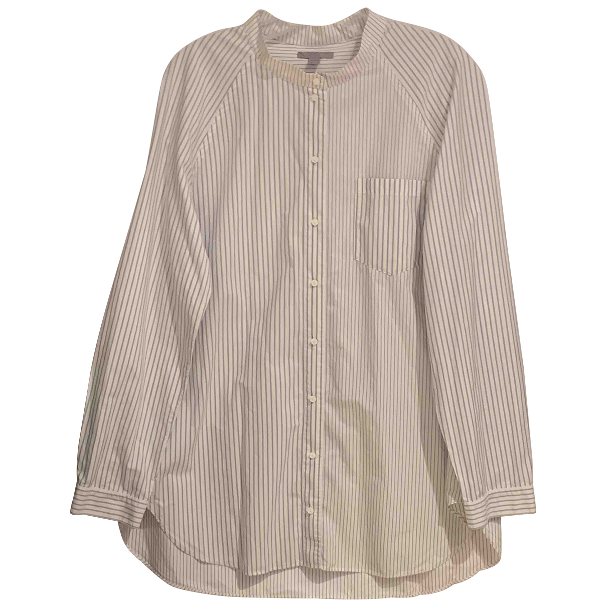 Cos \N White Cotton  top for Women 42 FR